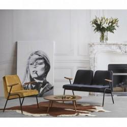 366 METAL FOTEL PODWÓJNY fotel Chierowskiego w stylu loftowym