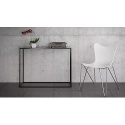 SKINNY STAL minimalistyczna konsola w industrialnym stylu
