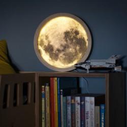 KOSMOS drewniana lampka do pokoju dziecięcego polski design