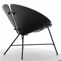 GINKA CZARNA fotel w stylu vintage
