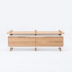 KOMODA LOOP 3 lite drewno dębowe polski design