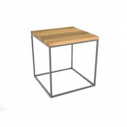 BRICK DREWNO minimalistyczny stolik kawowy styl loftowy