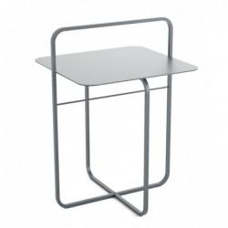 RADIUS II STAL stolik kawowy pomocnik styl industrialny