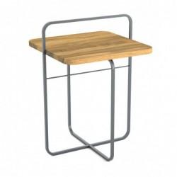 RADIUS II DREWNO stolik kawowy pomocnik styl industrialny