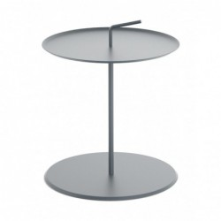 RADIUS Z RĄCZKĄ I stalowy stolik kawowy pomocnik
