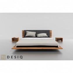 KUZMA łóżko z litego drewna polski design