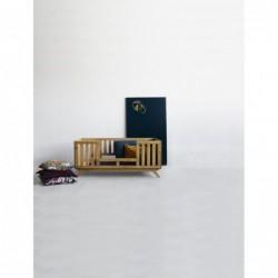 NEST.BED łóżeczko dziecięce ze sklejki w skandynawskim stylu