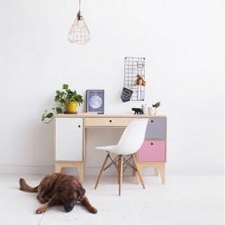 FUSS biurko ze sklejki w skandynawskim stylu