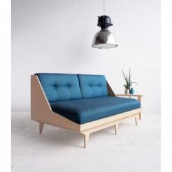 NORSK.MINI sofa ze sklejki w skandynawskim stylu