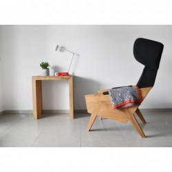 LIU duży fotel uszak polski design