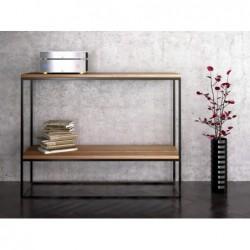 SKINNY OAK minimalistyczna konsola w industrialnym stylu