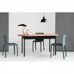 BOX OVAL stół w stylu bauhaus polski design