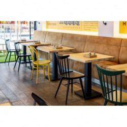 FLAT 90 stół restauracyjny w stylu loftowym polski design