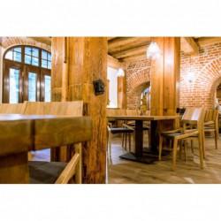 FLAT 140 stół restauracyjny w stylu loftowym polski design