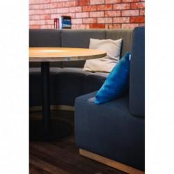 ROUND FLAT okrągły stół restauracyjny w stylu loftowym