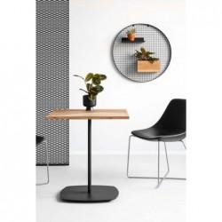 OVAL 80 stół restauracyjny w stylu loftowym polski design