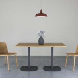 OVAL 140 stół restauracyjny w stylu loftowym polski design