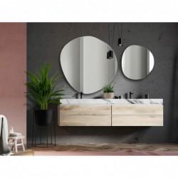 LAPIS lustro nowoczesne łazienkowe w stylu mid-century